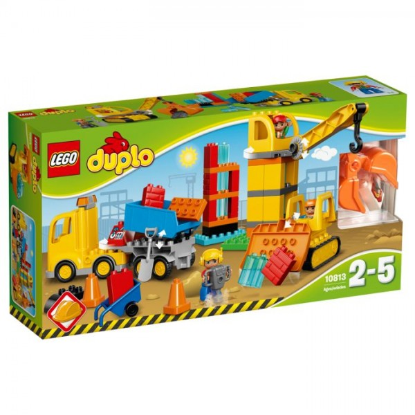 10813 Lego Duplo Grote Bouwplaats