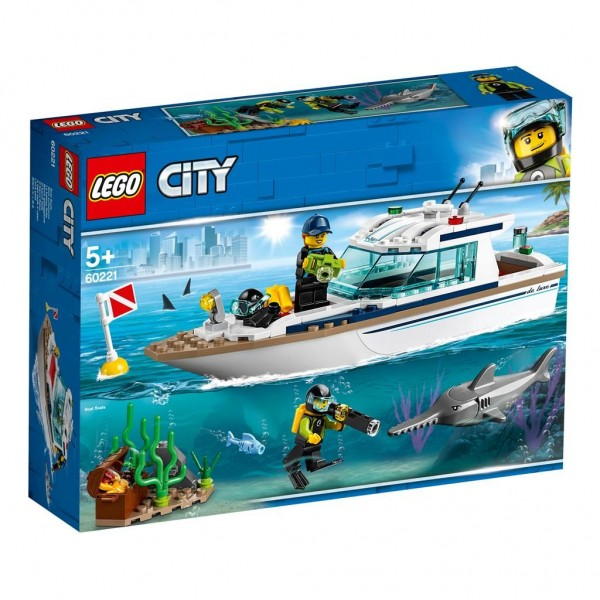 60221 Lego City Duikjacht