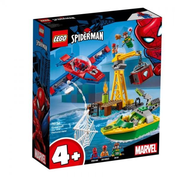 LEGO Marvel: Spider Man Doc Ock Diamond Heist (76134)