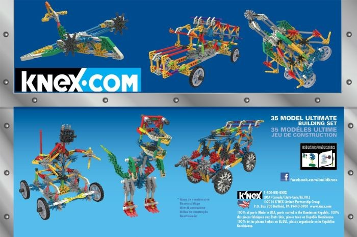 Knex 35 Model Koffer