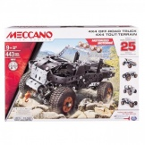 Meccano 4X4 Truck 25 Model set