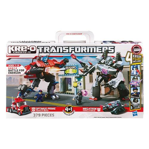 Bouwset Kreo Transformers Battle for Energo