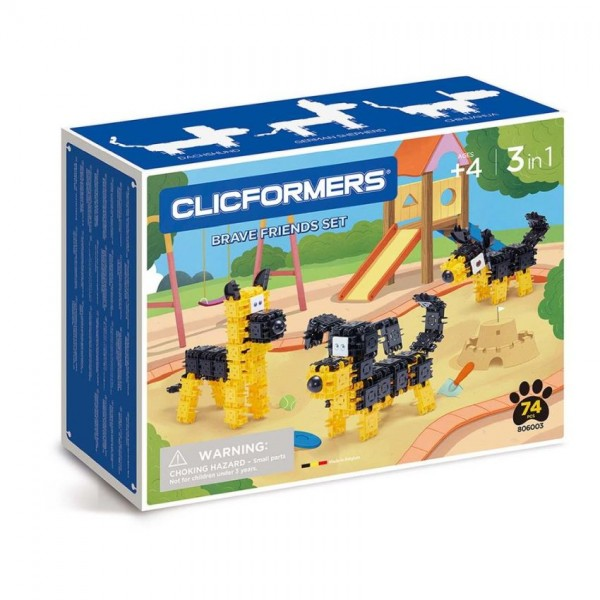 Clicformers Brave Friends Set