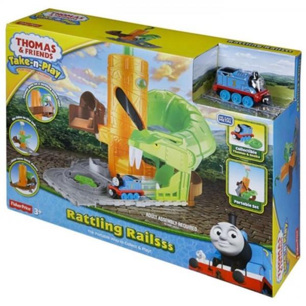 Thomas De Trein Take-N-Play Rattling Rail