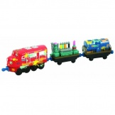Chuggington Wilson met verfwagons