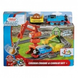 Thomas & Friends Trackmaster Cassie Crane en Cargo set