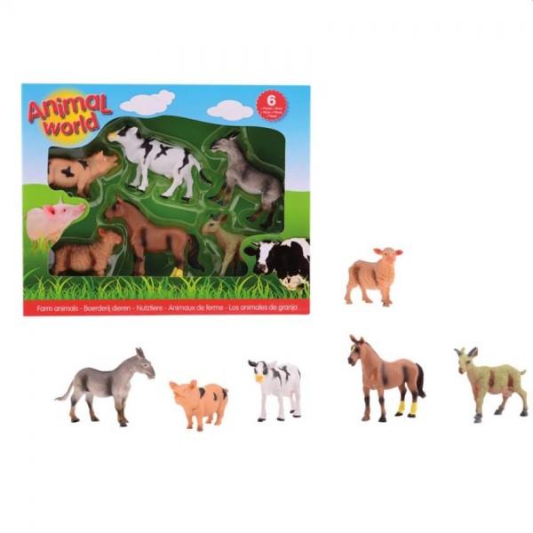 Boerderijdieren Animalworld in Doos