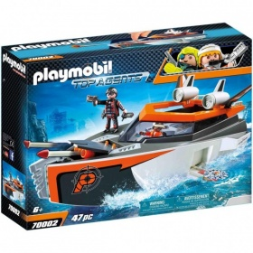 70002 Playmobil Top Agents Spy Team Turboschip
