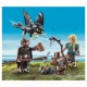 70040 Playmobil Dragons Hikkie En Astrid Speelset