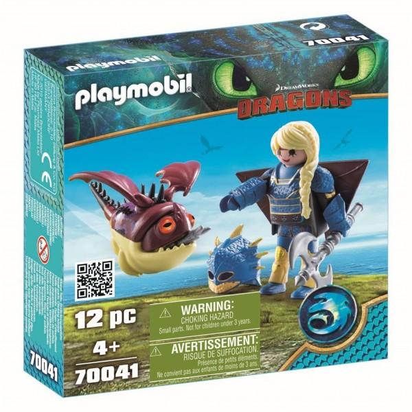 70041 Playmobil Astrid In Vliegpak En Schrokop