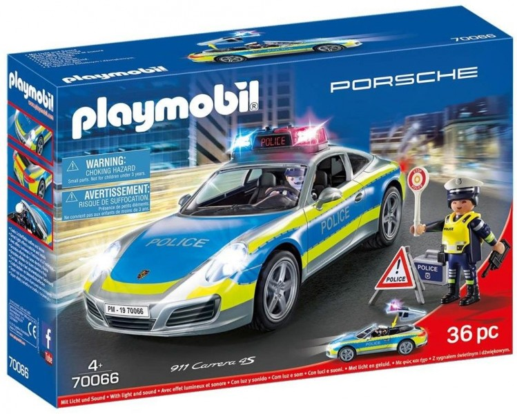 Playmobil 70066 Porsche 911 Carrera Politie