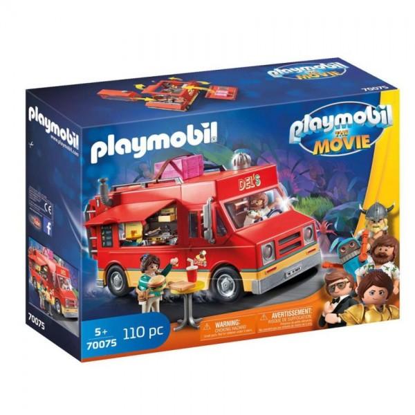 70075 Playmobil Movie Foodtruck van Del