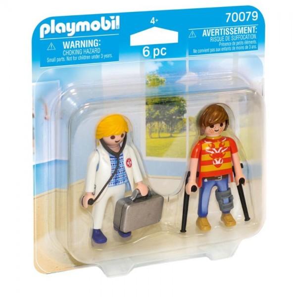70079 Playmobil Duopack Dokter en Patint