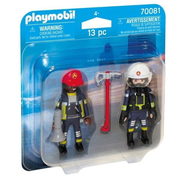 70081 Playmobil Duopack Brandweerlui