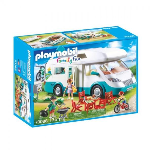 70088 Playmobil Mobilhome met Familie