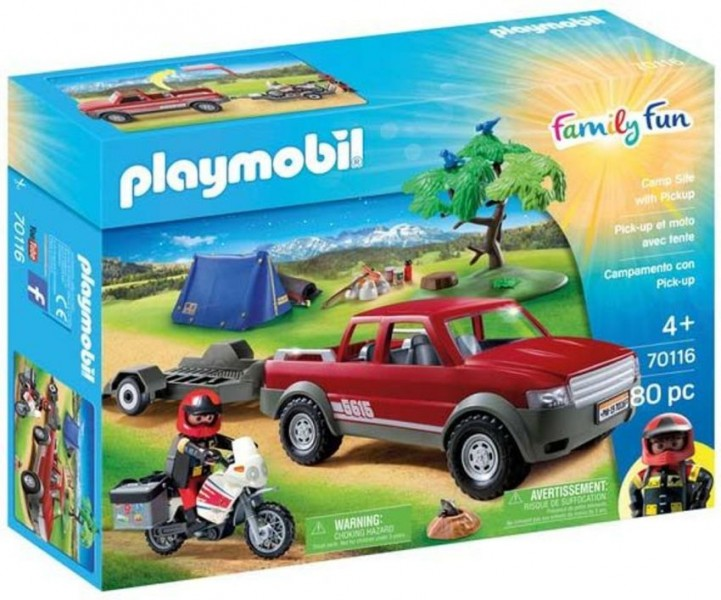 70116 Playmobil Pick-Up Truck Adventure