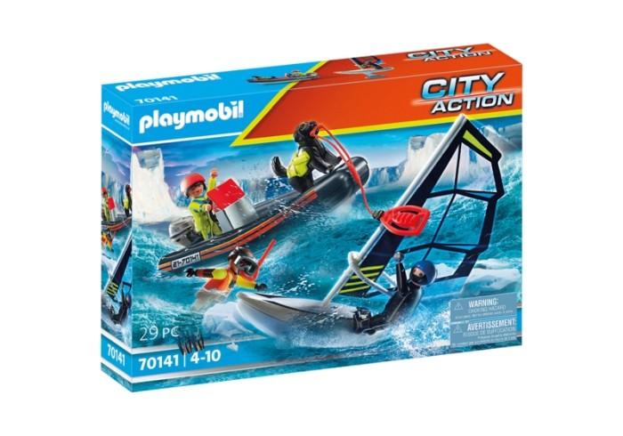 70141 Playmobil Redding Poolglijder Met Rubberen Sleepboot