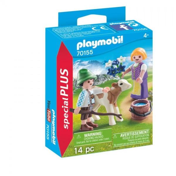 70155 Playmobil Kinderen met Kalf