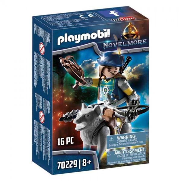 70229 Playmobil Novelmore Kruisboogschutter met Wolf