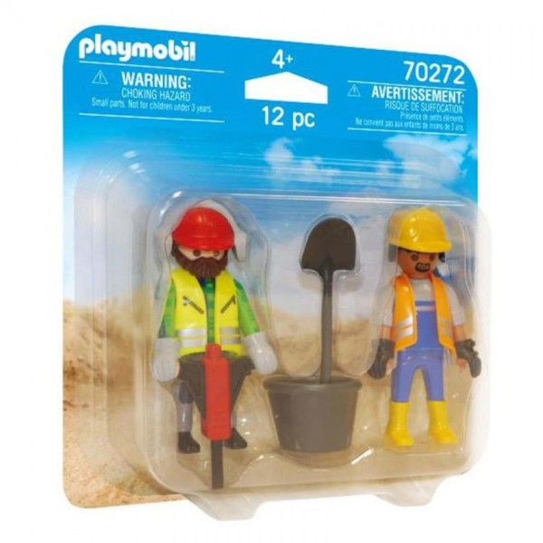 702072 Playmobil Duopack Bouwvakkers