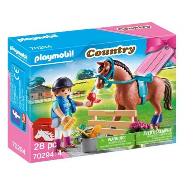 70294 Playmobil Cadeauset Paarden