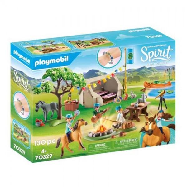 70329 Playmobil Spirit Paardenkamp