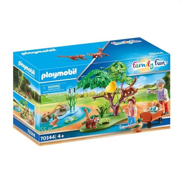 70344 Playmobil Buitenverblijf Rode Panda's