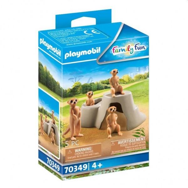 70349 Playmobil Kolonie Stokstaartjes