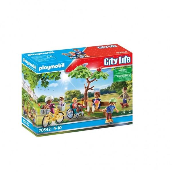 70542 Playmobil City in het Stadspark