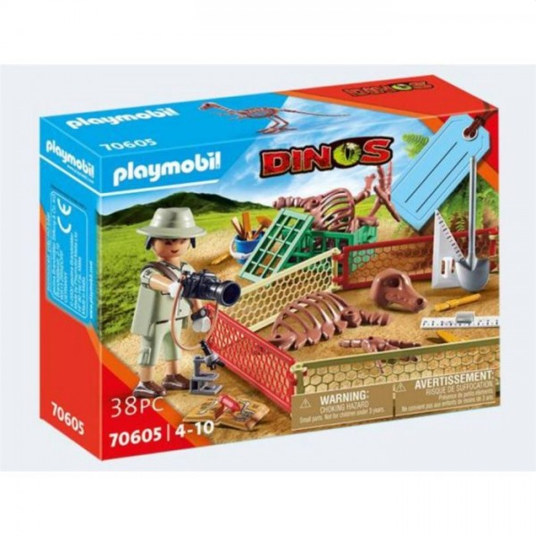 70605 Playmobil Geschenkset Paleontholoog