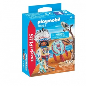 70062 Playmobil Inheems Stamhoofd