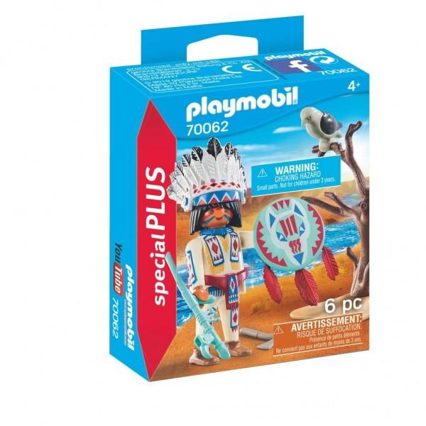 70062 Playmobil Inheems Stamhoofd