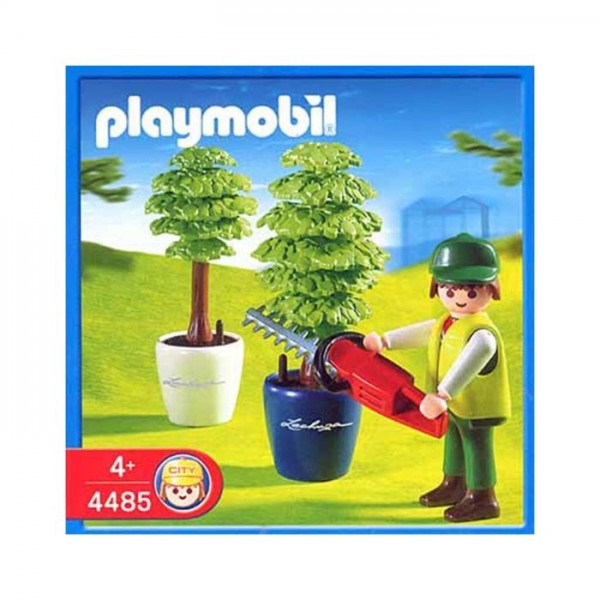 4485 Playmobil Tuinman + Heggeschaar