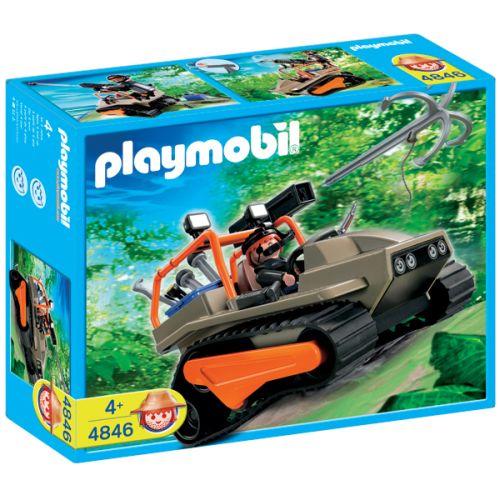 4846 playmobil rupsvoertuig met schattenjager