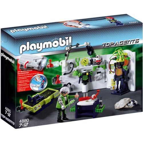 4880 Playmobil Robo Gangster Laboratorium