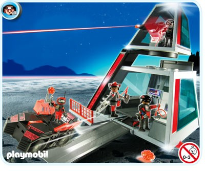 5153 Playmobil Darksters Ruimtestation