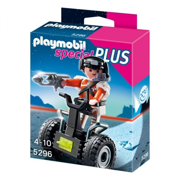 5296 Playmobil Top Agent met Balansracer