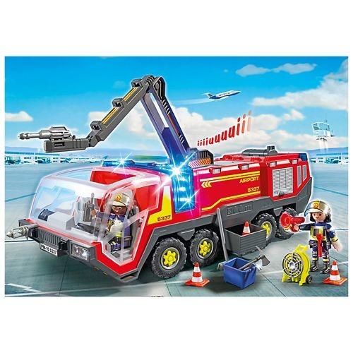5337 Playmobil Luchthavenbrandweer Met Licht