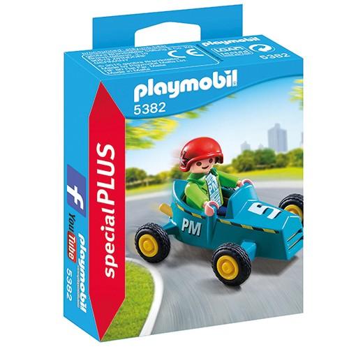 5382 Playmobil Jongen met Cart