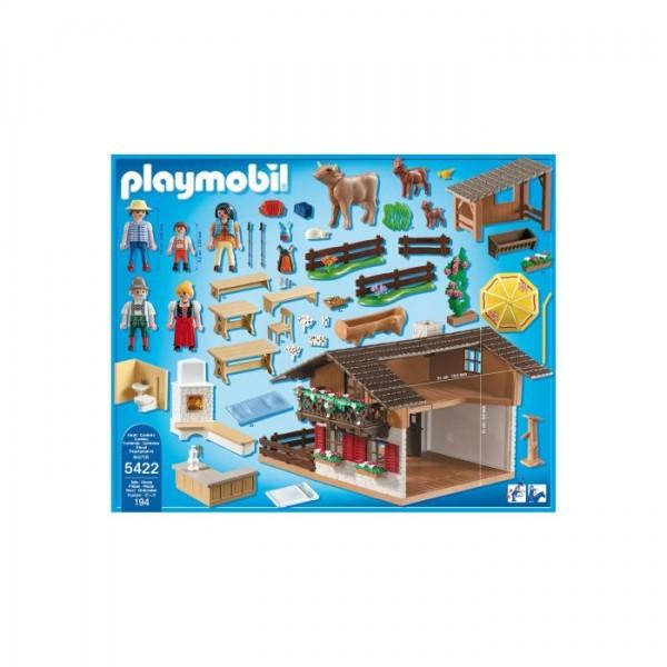 Playmobil 5422 La Caba A De Los Alpes Todo Un Lujo De