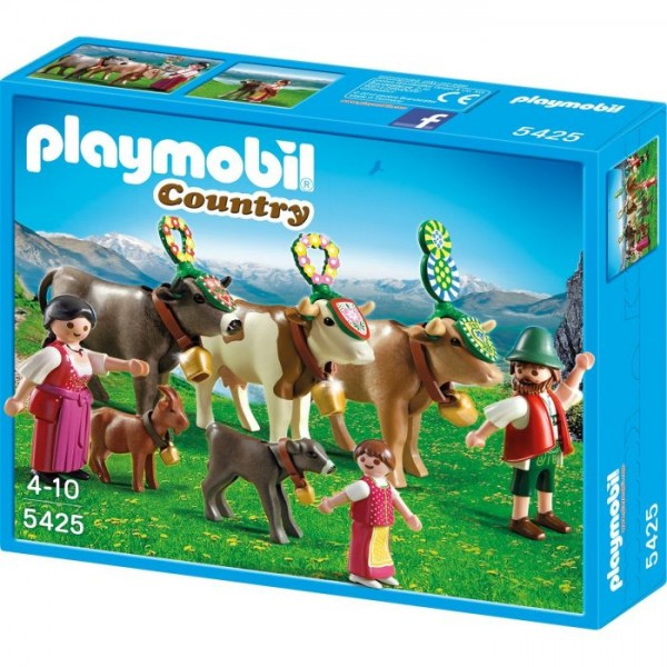 5425 Playmobil Afdaling in de Alpen
