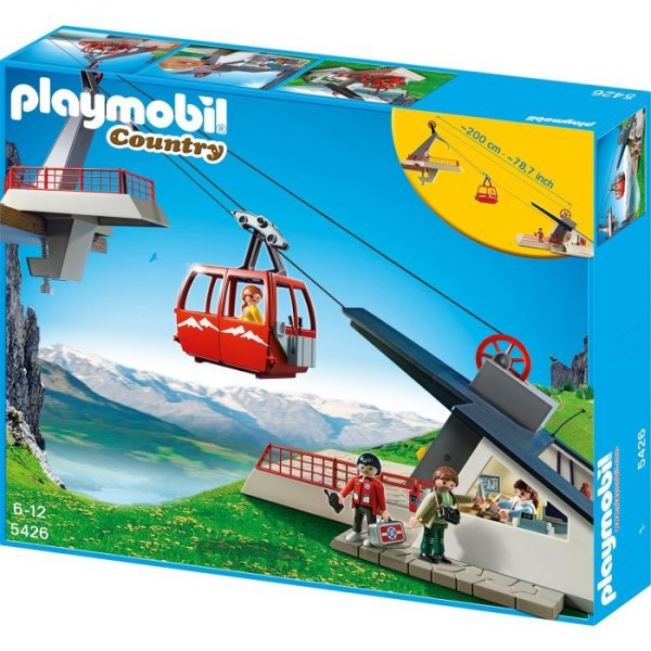 5426 Playmobil Bergstation met Kabelbaan Playmobil