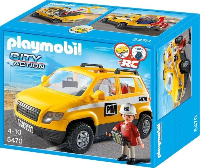 5470 Playmobil Werfleider met Voertuig