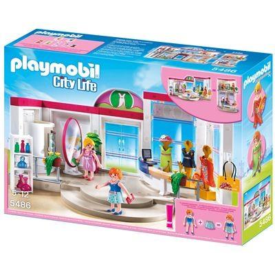 5486 playmobil kledingwinkel voordelig online kopen. Black Bedroom Furniture Sets. Home Design Ideas