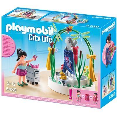 5489 Playmobil Styliste met Verlichte Etalage