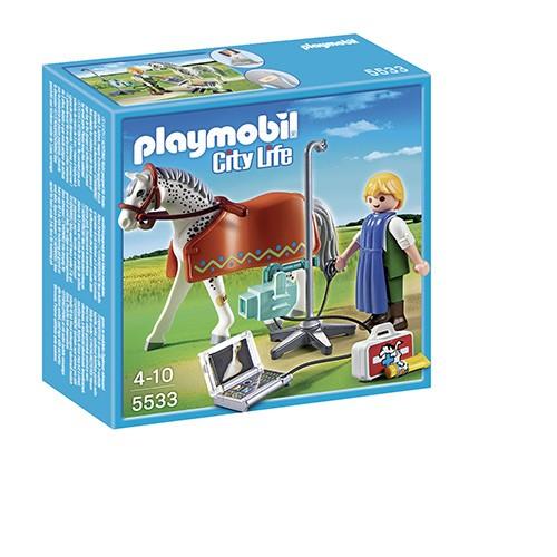Playmobil Radioloog Met Appaloosa 5533