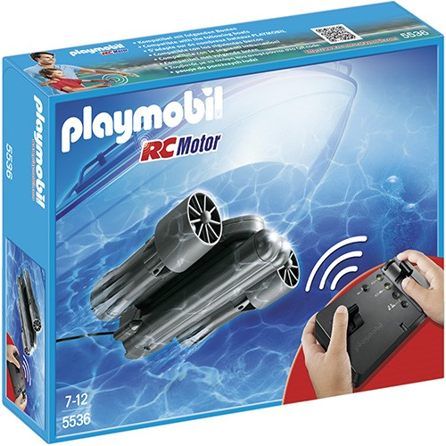 5536 Playmobil Rc Onderwatermotor