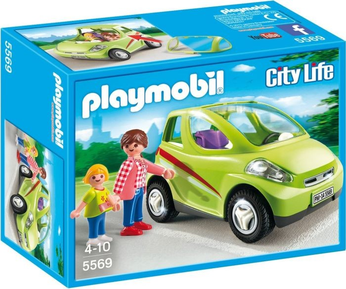 5569 Playmobil Stadswagen