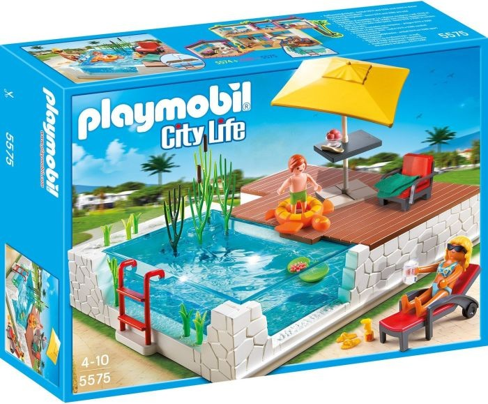 5575 Playmobil Zwembad met Terras