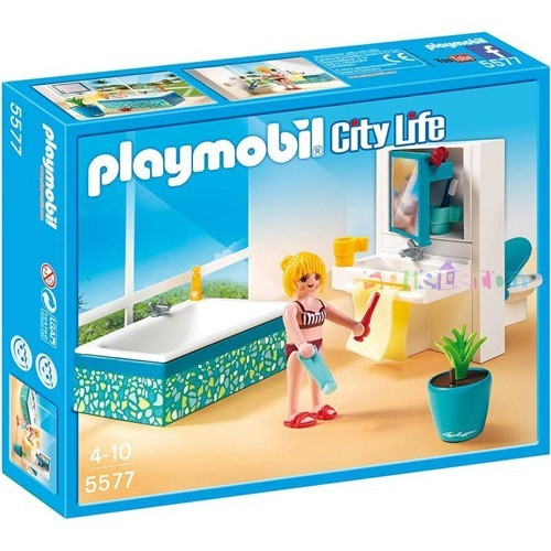 5577 playmobil badkamer met bad